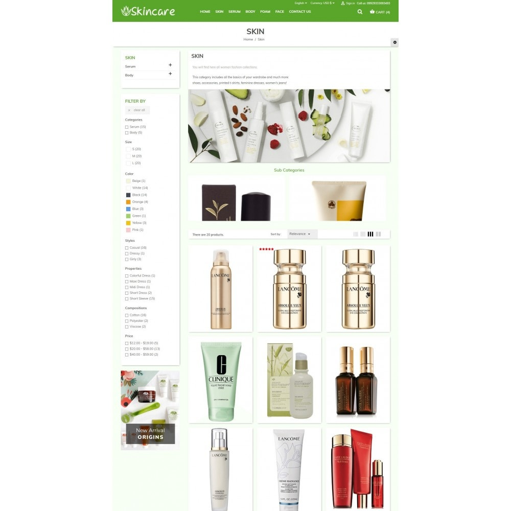 theme - Health & Beauty - SkinCare - Bio Medical Store - 4