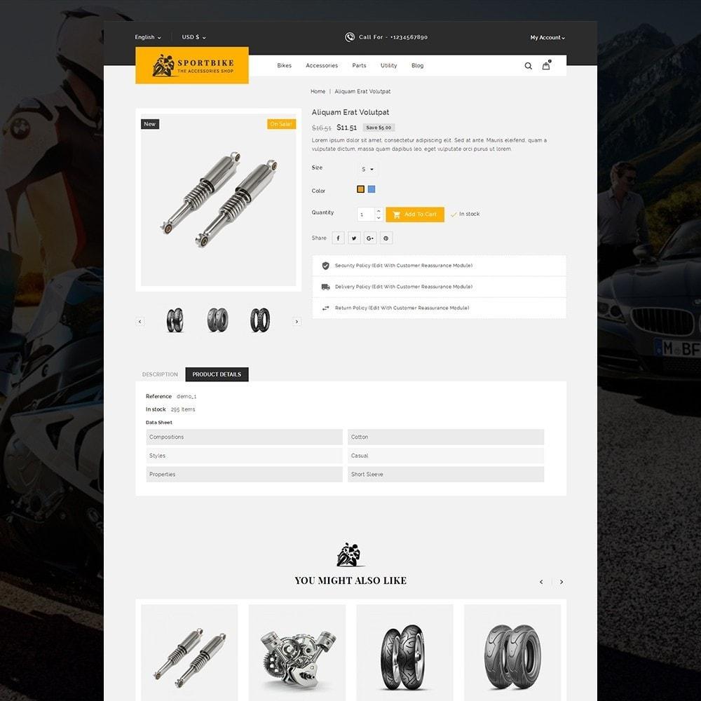 theme - Carros & Motos - Sports Bike Auto Store - 4