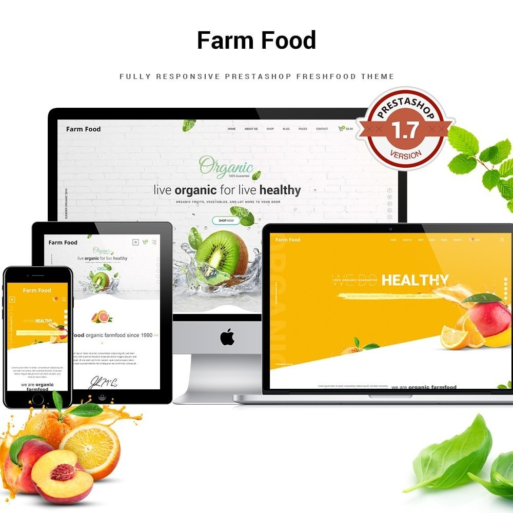 theme - Lebensmittel & Restaurants - JMS FarmFood 1.7 - 1