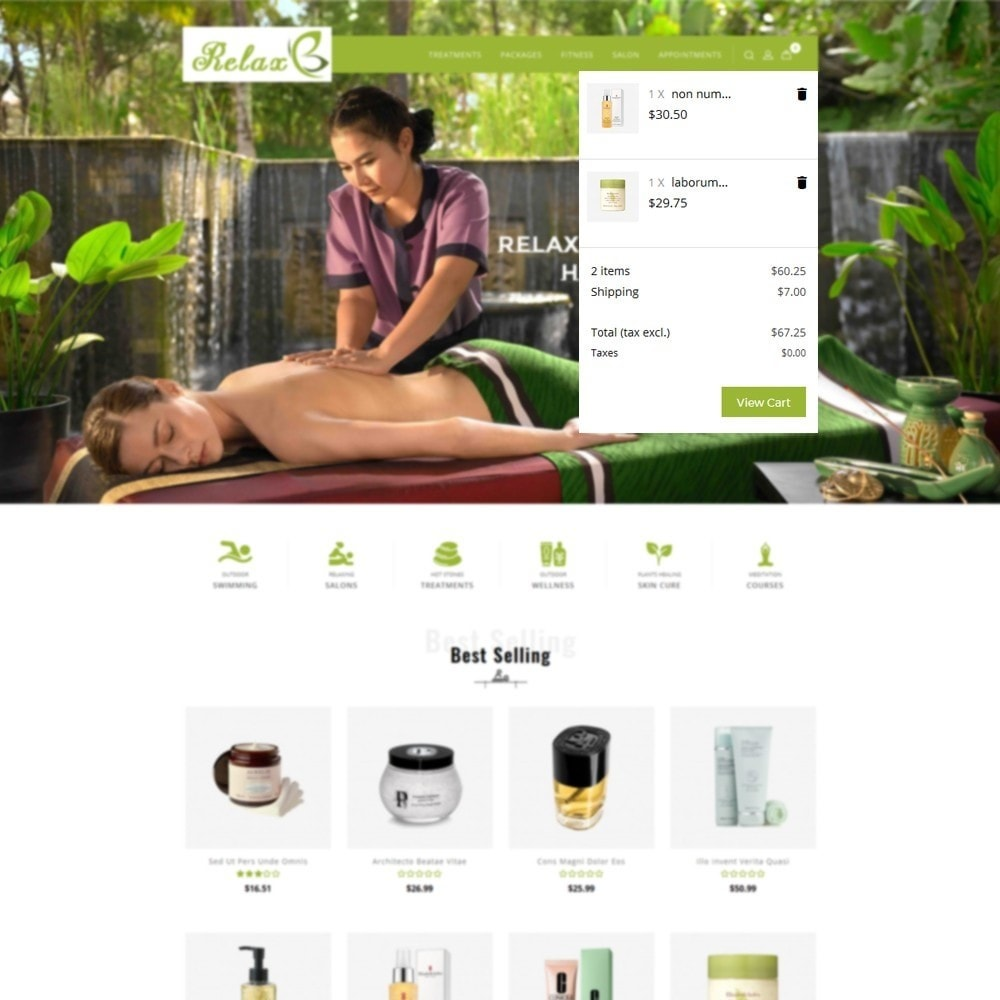 theme - Health & Beauty - Relax Spa Store - 8
