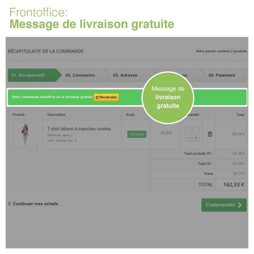 module - Frais de port - Livraison Gratuite par Zone/Transporteur- Frais de Port - 8