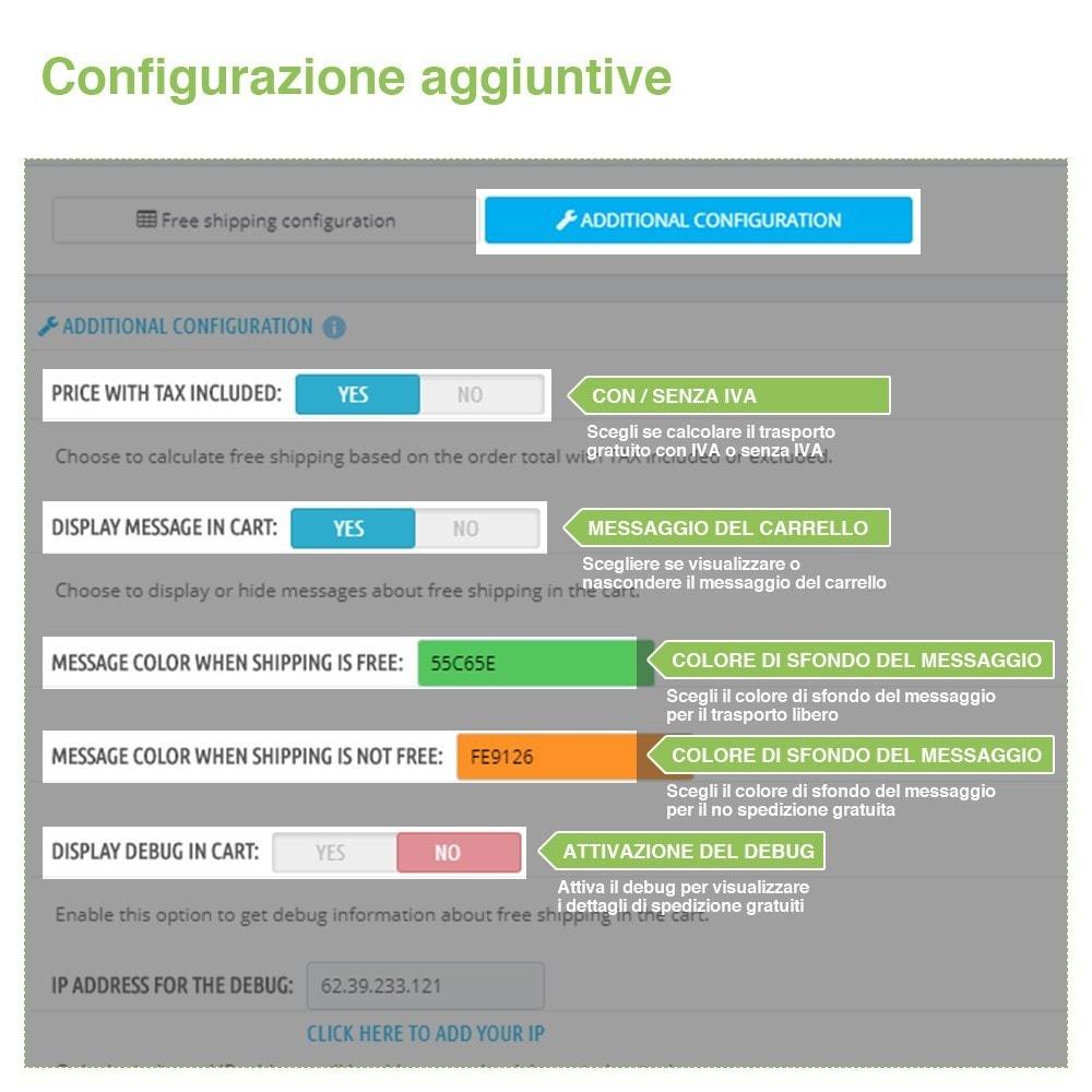 module - Spese di Spedizione - Invio Gratuito per Zona, Corriere, Peso e Prezzo - 6