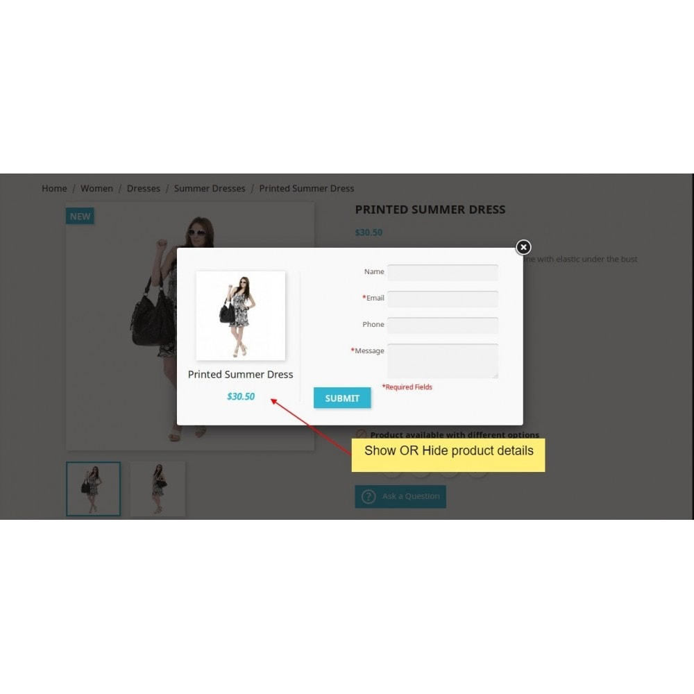 module - Contact Forms & Surveys - Product Inquiry - 5