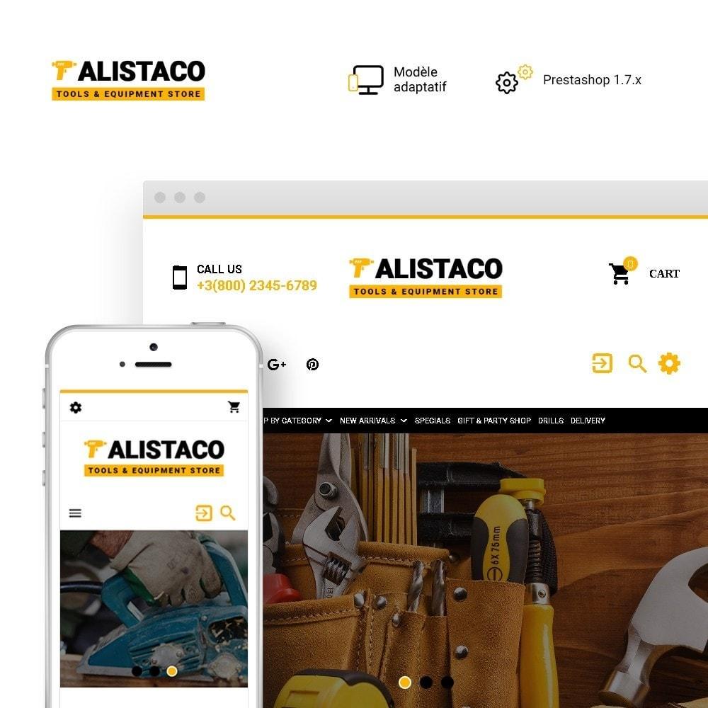 theme - Maison & Jardin - Alistaco - Magasin d'outils et d'équipements - 1