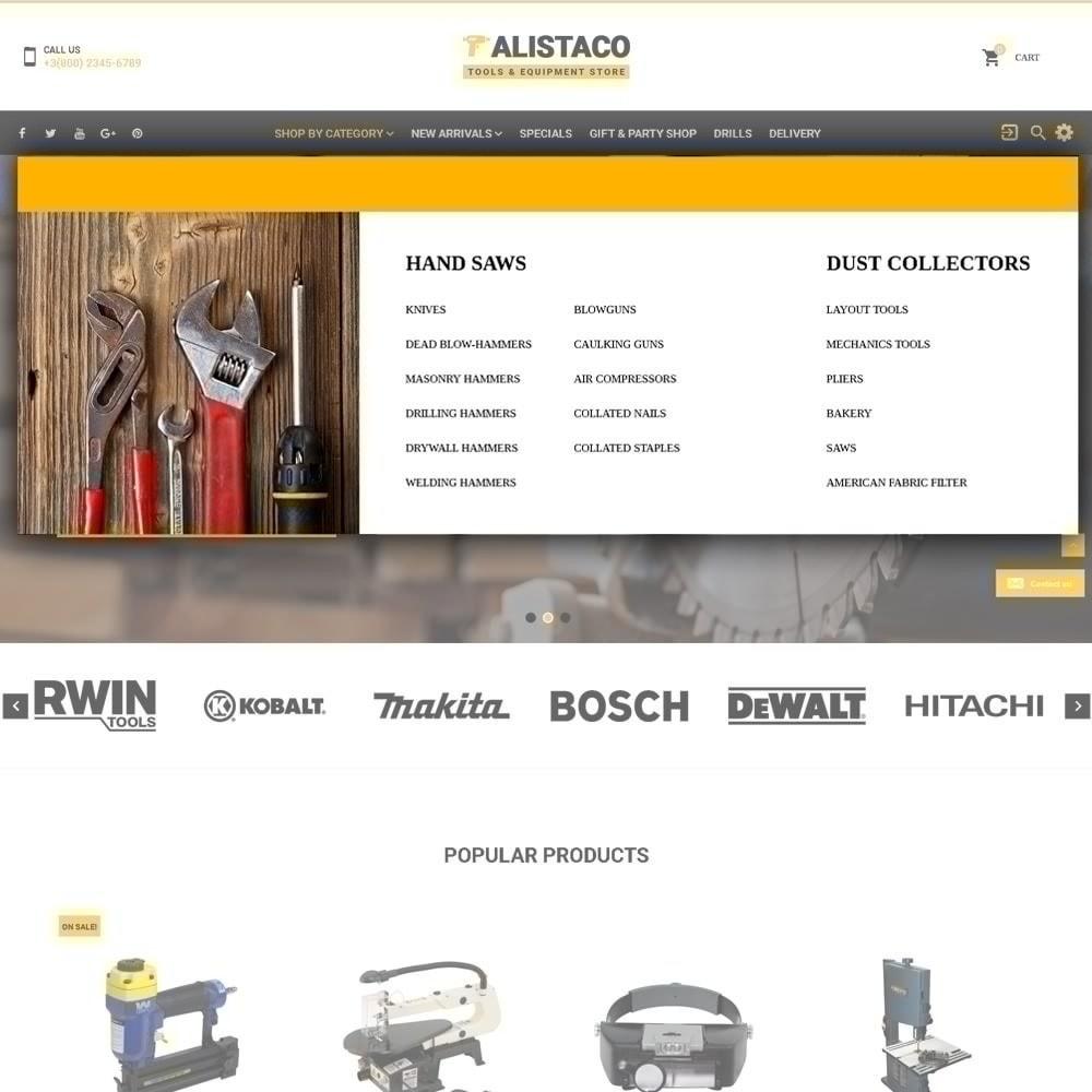 theme - Maison & Jardin - Alistaco - Magasin d'outils et d'équipements - 4