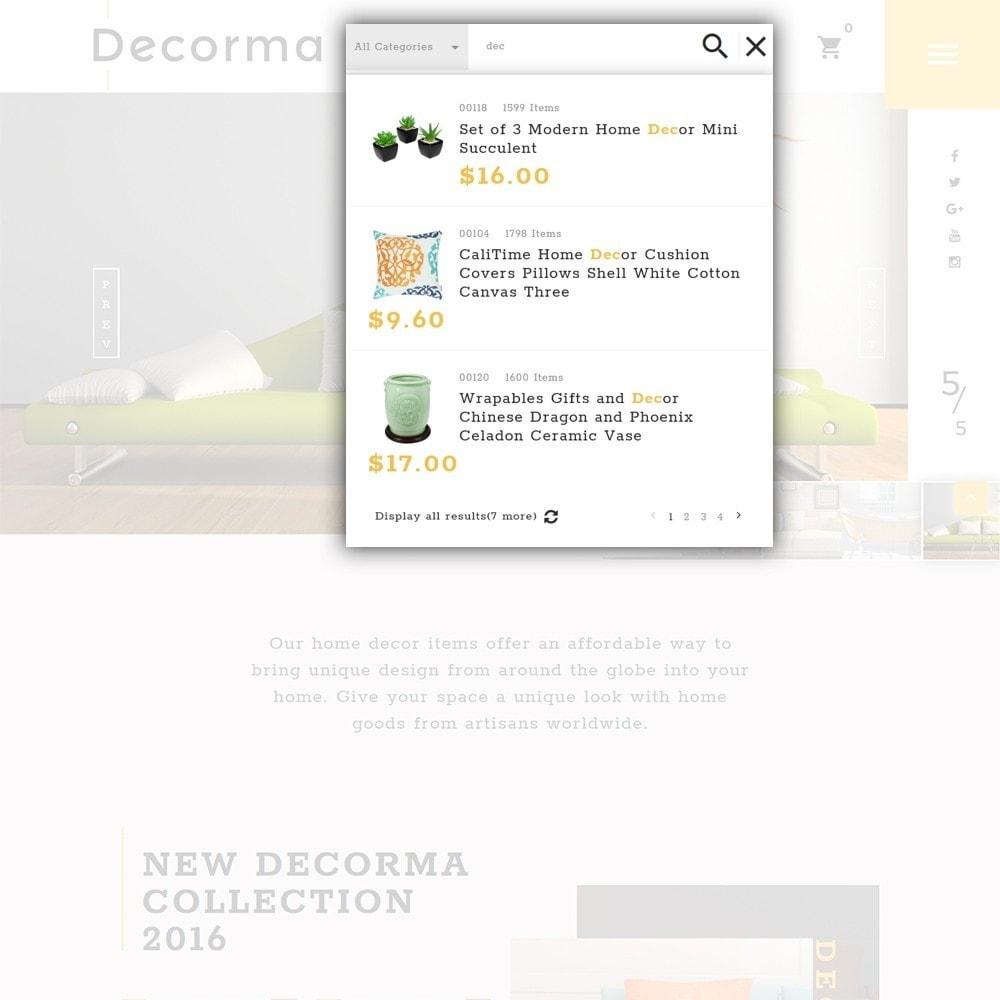 theme - Arte & Cultura - Decorma - per Un Sito di Home Decor - 4
