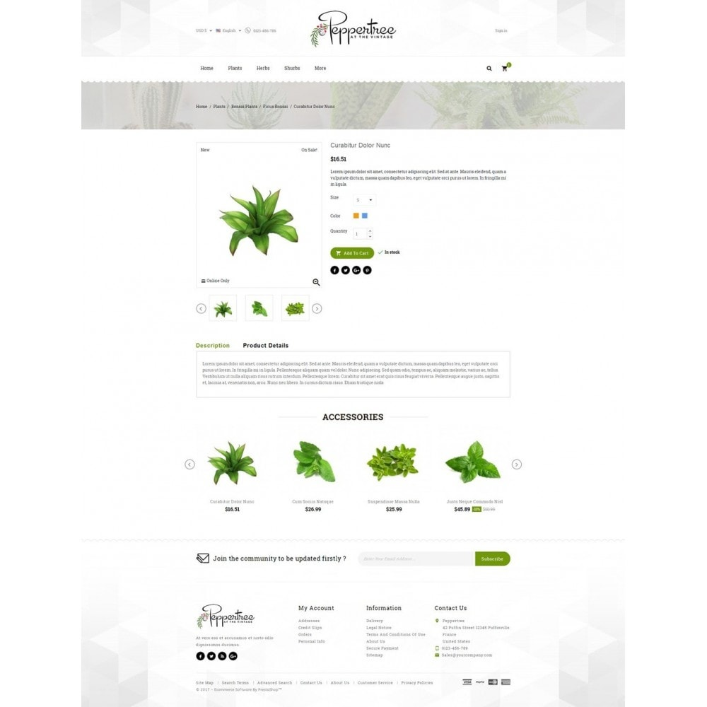 theme - Casa & Jardins - Peppertree - Garden Plants Store - 5