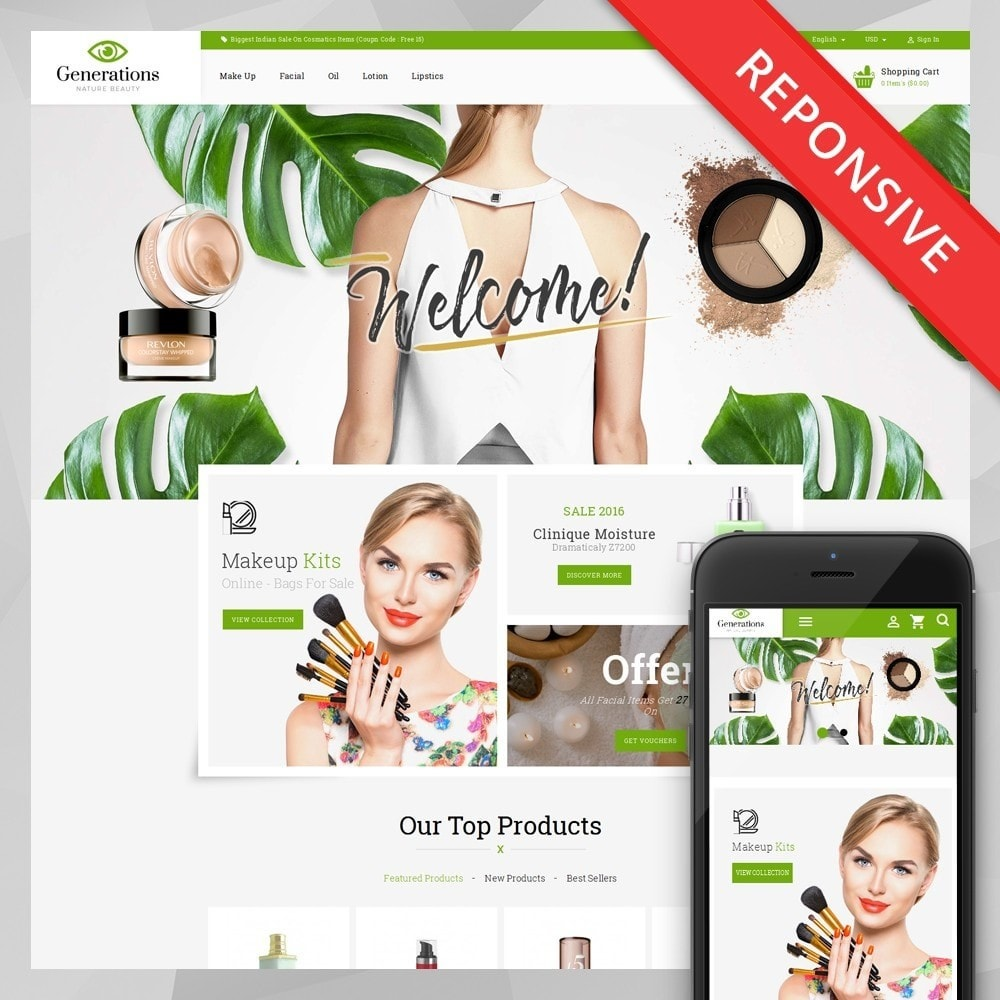 theme - Health & Beauty - Generations Nature Beauty Store - 1