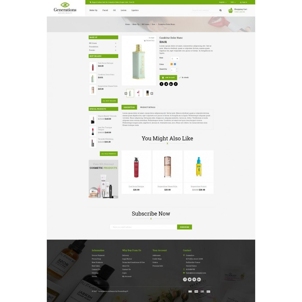 theme - Salud y Belleza - Generations Nature Beauty Store - 5