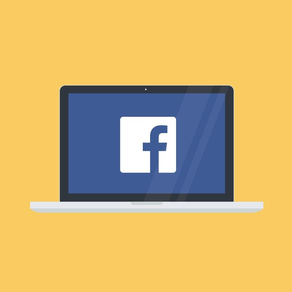 module - Produits sur Facebook & réseaux sociaux - Pixel Facebook Officiel - 1
