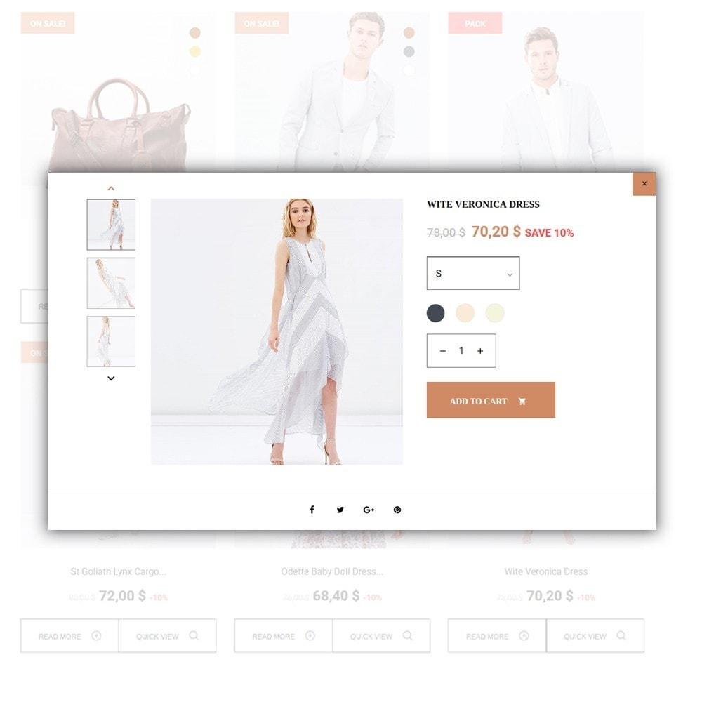theme - Moda & Calzature - Lunalin - per Un Sito di Fashion Store - 6