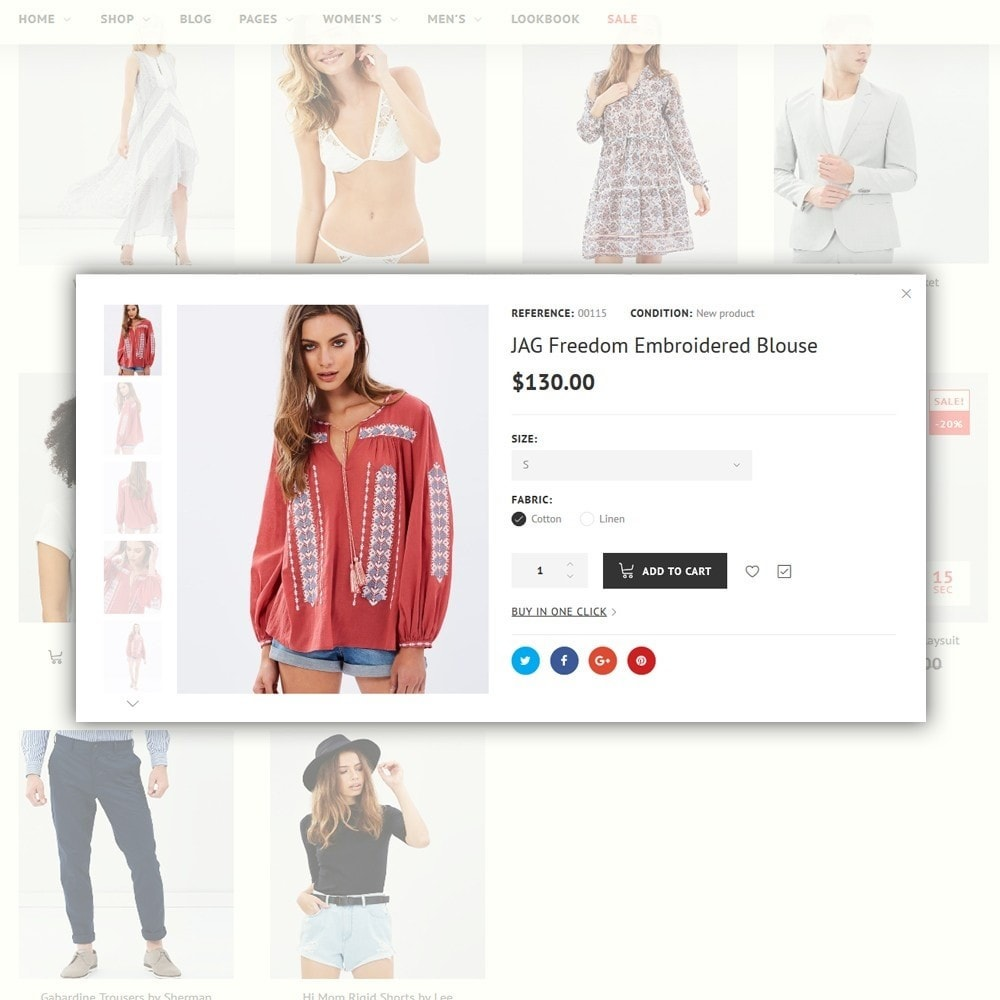 theme - Moda y Calzado - imPresta - Multipurpose - 4