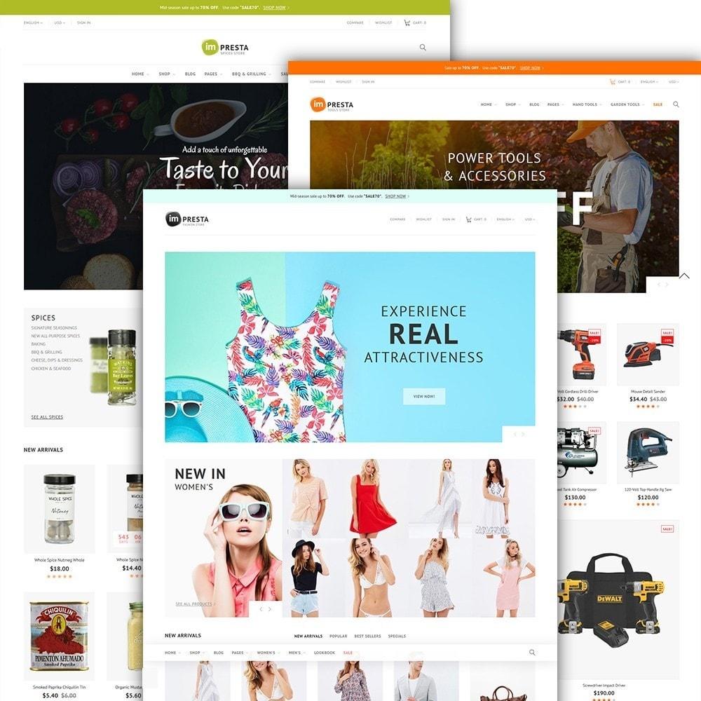theme - Мода и обувь - imPresta - Multipurpose - 3