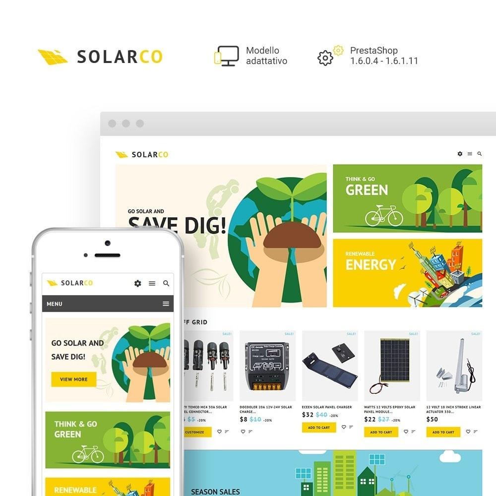 theme - Casa & Giardino - SolarCo - Negozio di Impianti solari - 2