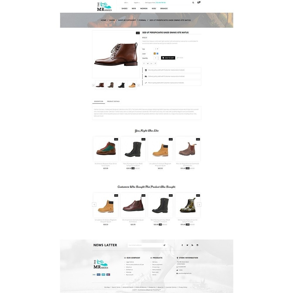 theme - Mode & Schoenen - The MR shoes store - 5