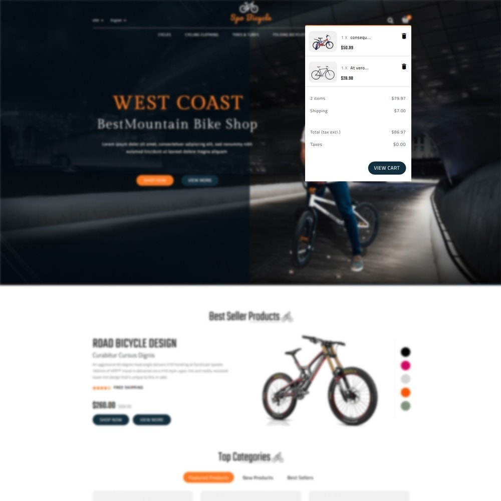 theme - Auto's & Motoren - Spo Bicycle Store - 6
