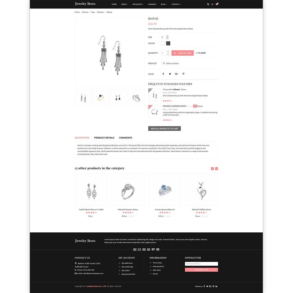 theme - Jewelry & Accessories - Jewelry Store - Premium PrestaShop Template - 4