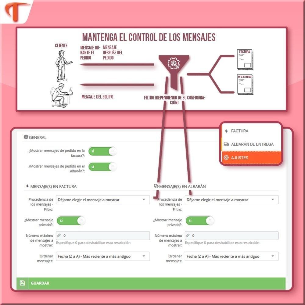 module - Contabilidad y Facturas - Presente mensajes en sus facturas - 4