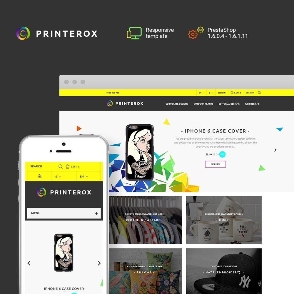 theme - Kultura & Sztuka - Printerox Design - 1