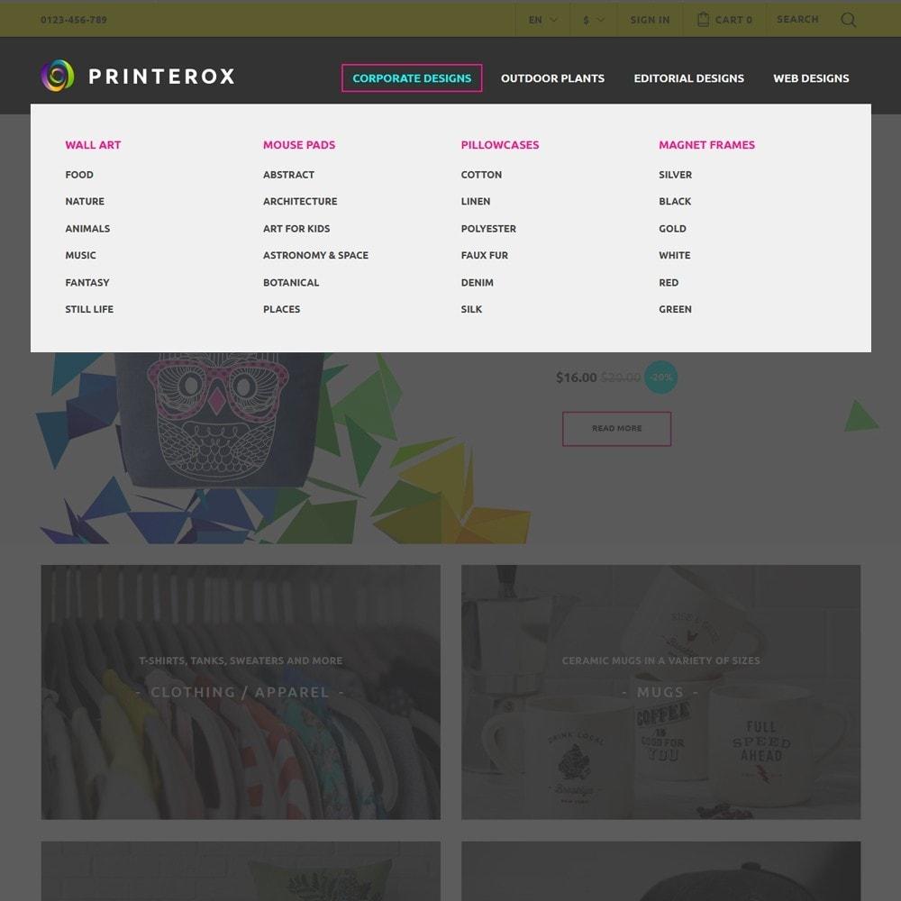 theme - Arte y Cultura - Printerox Design - 3