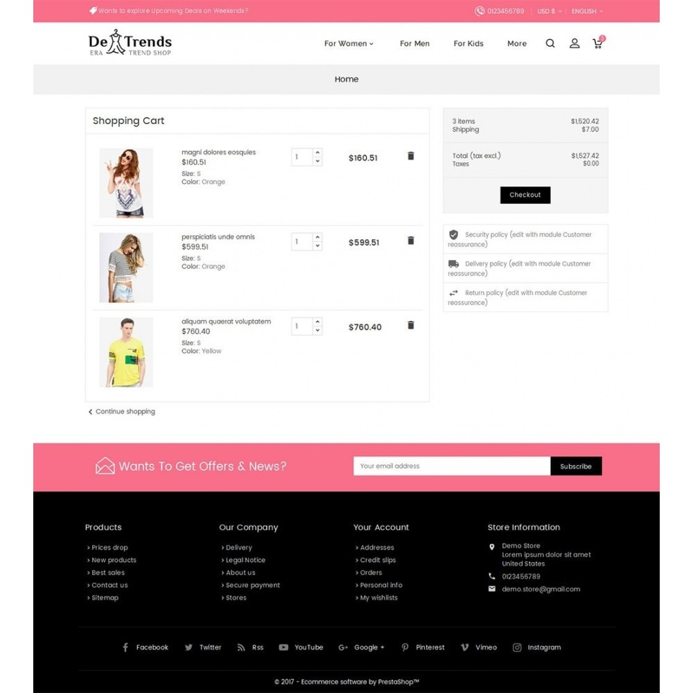 theme - Fashion & Shoes - Trends Fashion Store - 6