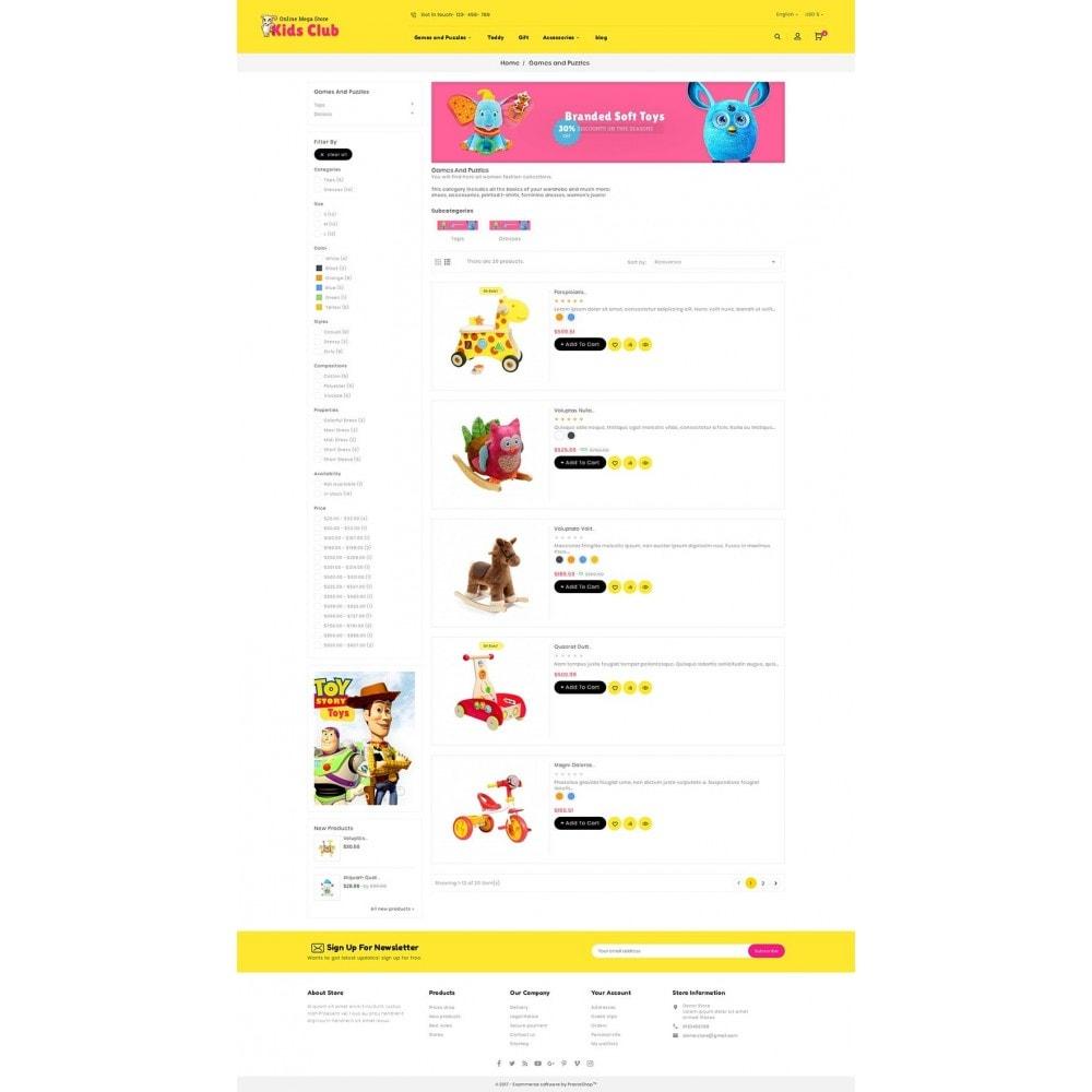 theme - Kids & Toys - Kids Toy Club - 4