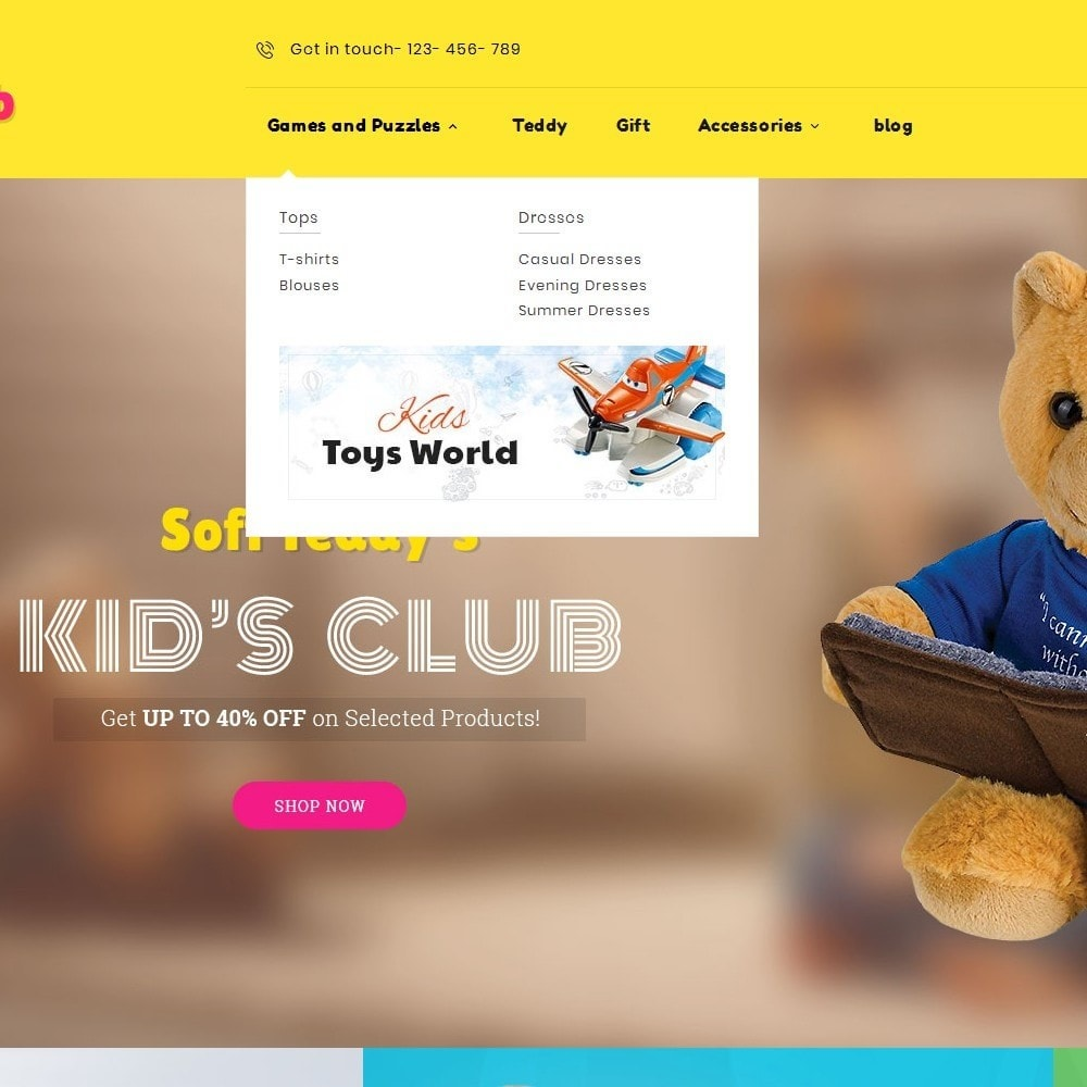 theme - Enfants & Jouets - Kids Toy Club - 9