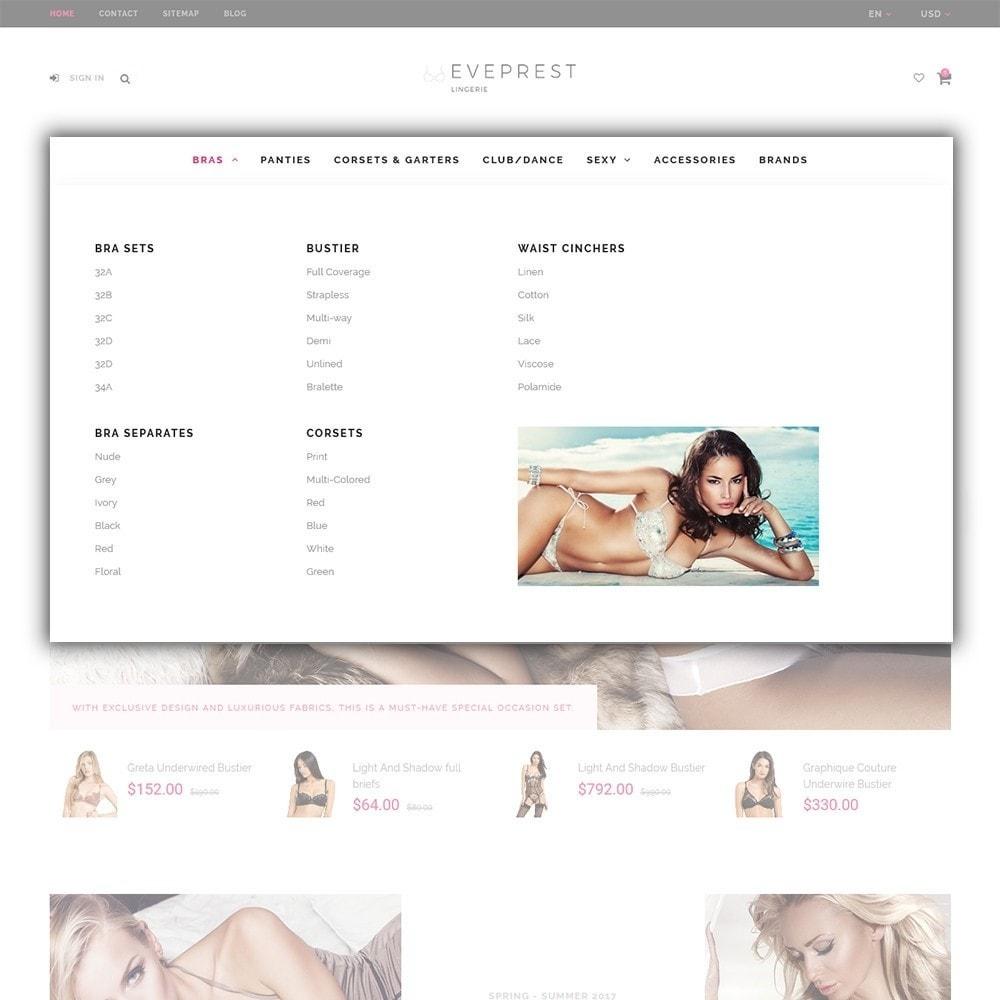theme - Lingerie & Adult - EvePrest - Lingerie Store - 3