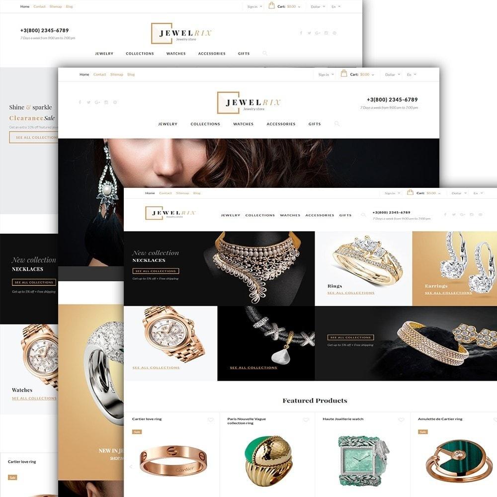 theme - Moda y Calzado - Jewelrix - para Sitio de Joyería - 2