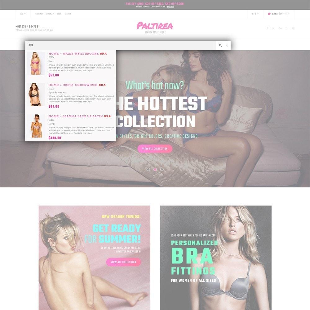 theme - Mode & Chaussures - Paltirea - magasin de lingerie thème - 6