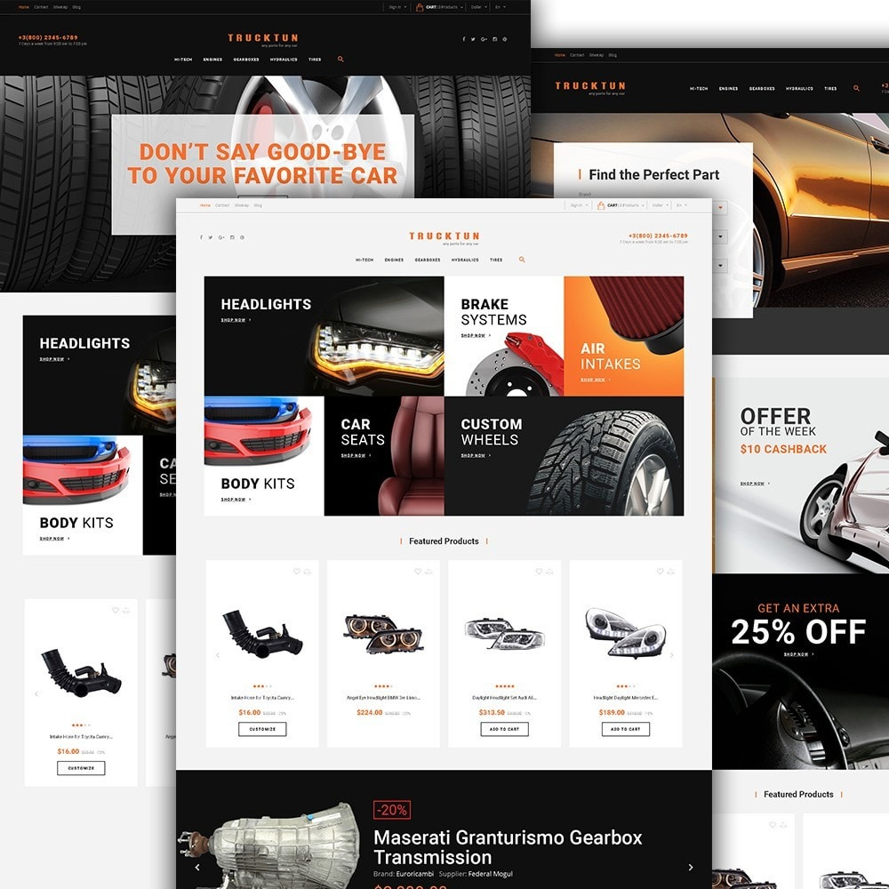 theme - Carros & Motos - Trucktun - Parts for Cars - 2