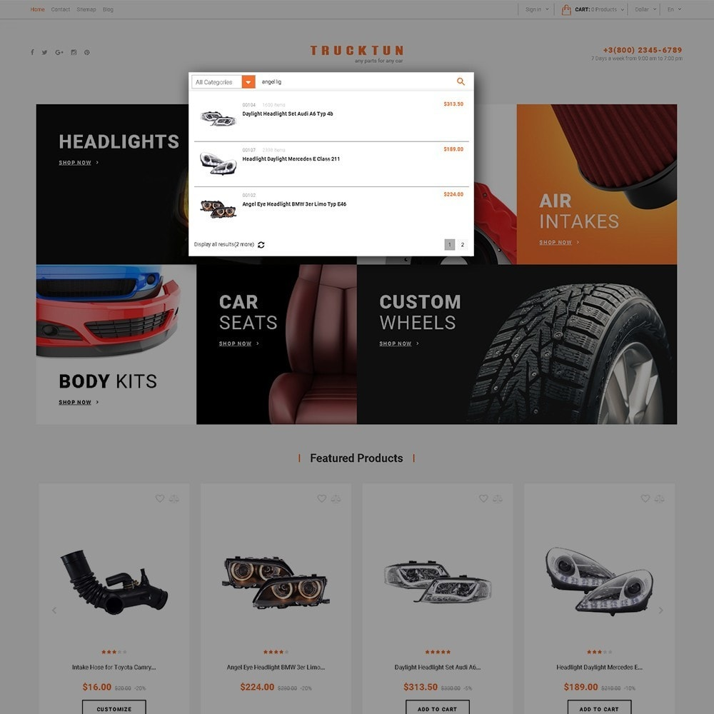 theme - Carros & Motos - Trucktun - Parts for Cars - 6