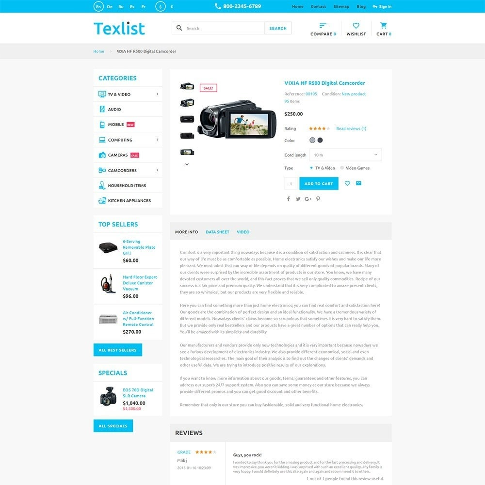theme - Electronics & Computers - Texlist - 3