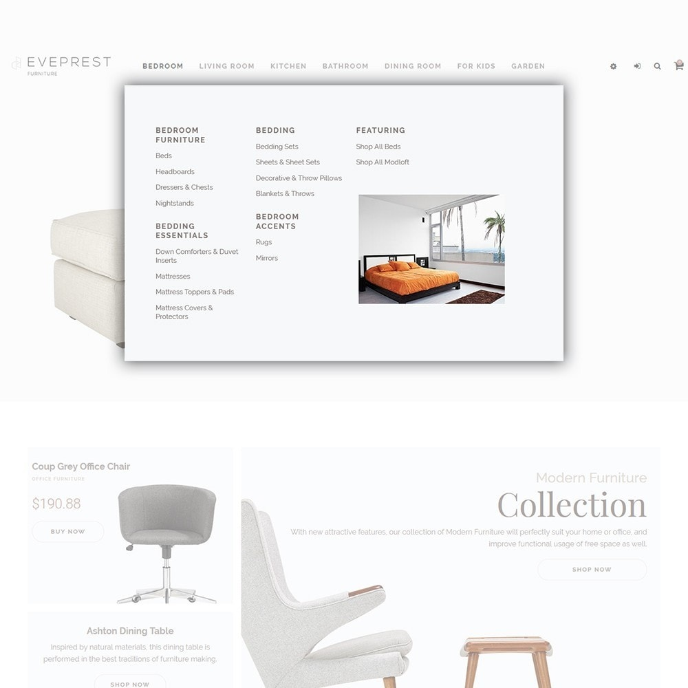 theme - Art & Culture - Eveprest - Furniture Store - 5