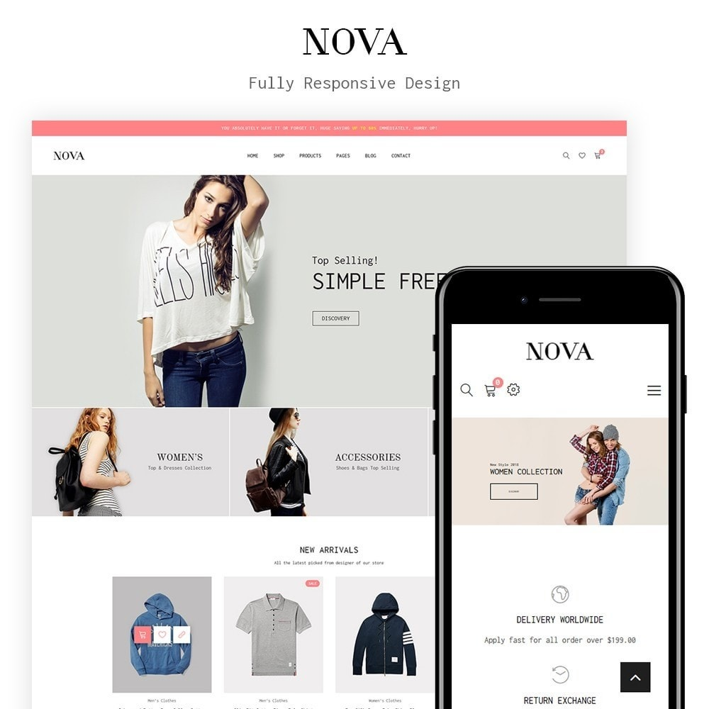 theme - Moda & Obuwie - JMS Nova - 1