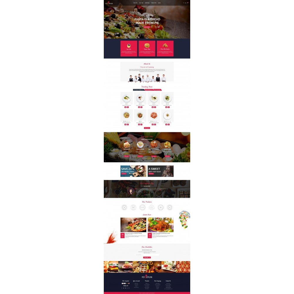 theme - Alimentation & Restauration - Foodyun - The Food Store - 2