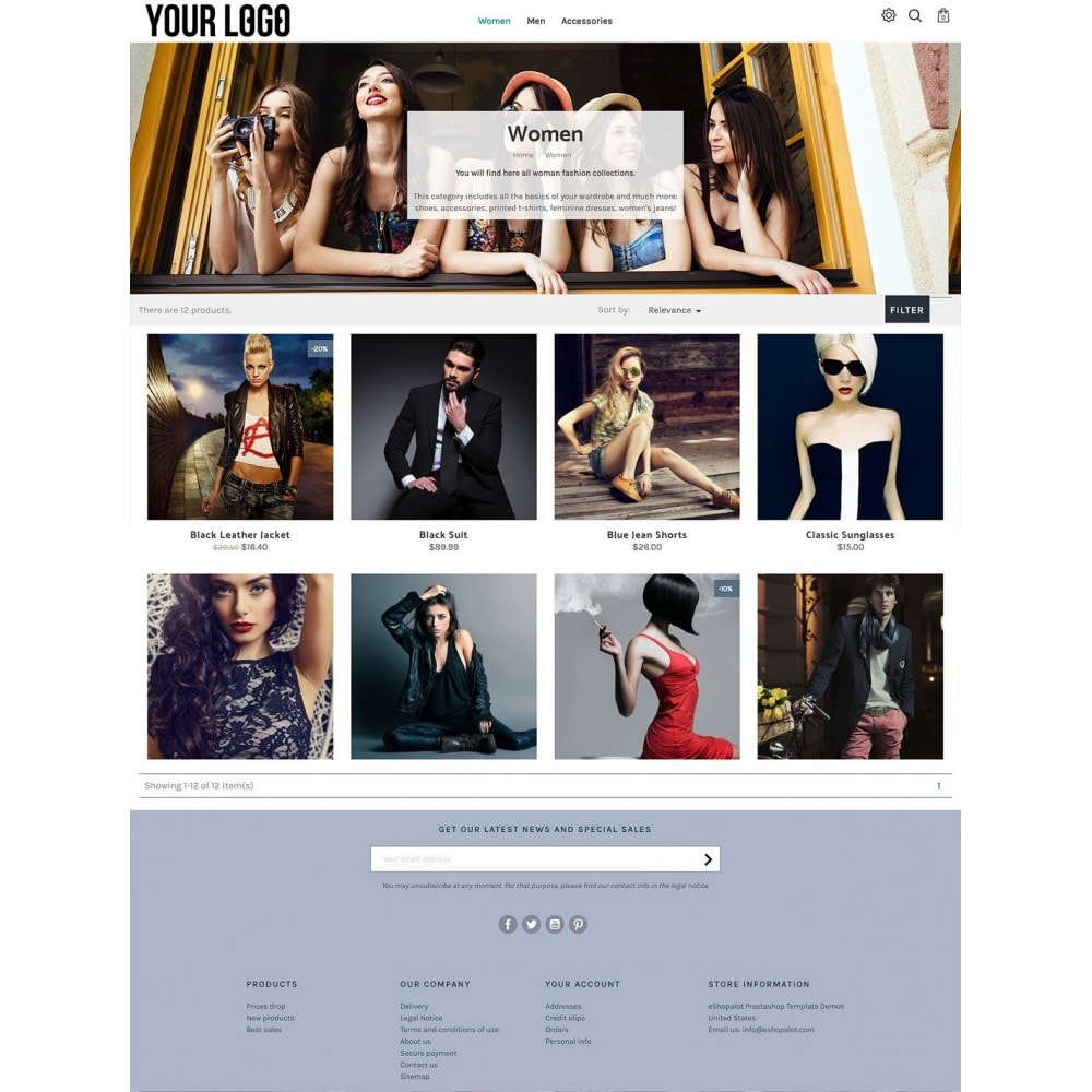 theme - Moda & Calzature - Progressive with split carousel - 3