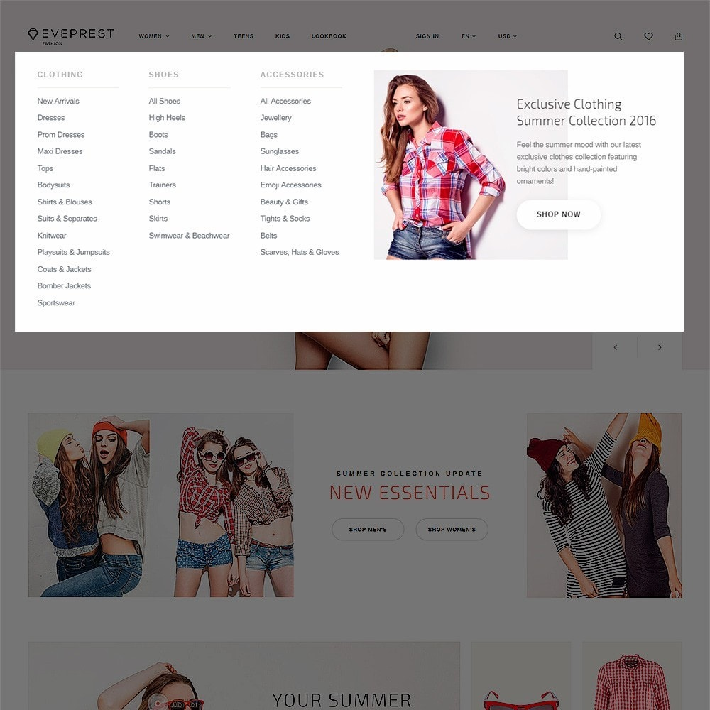 theme - Moda y Calzado - Eveprest - Fashion Boutique - 6