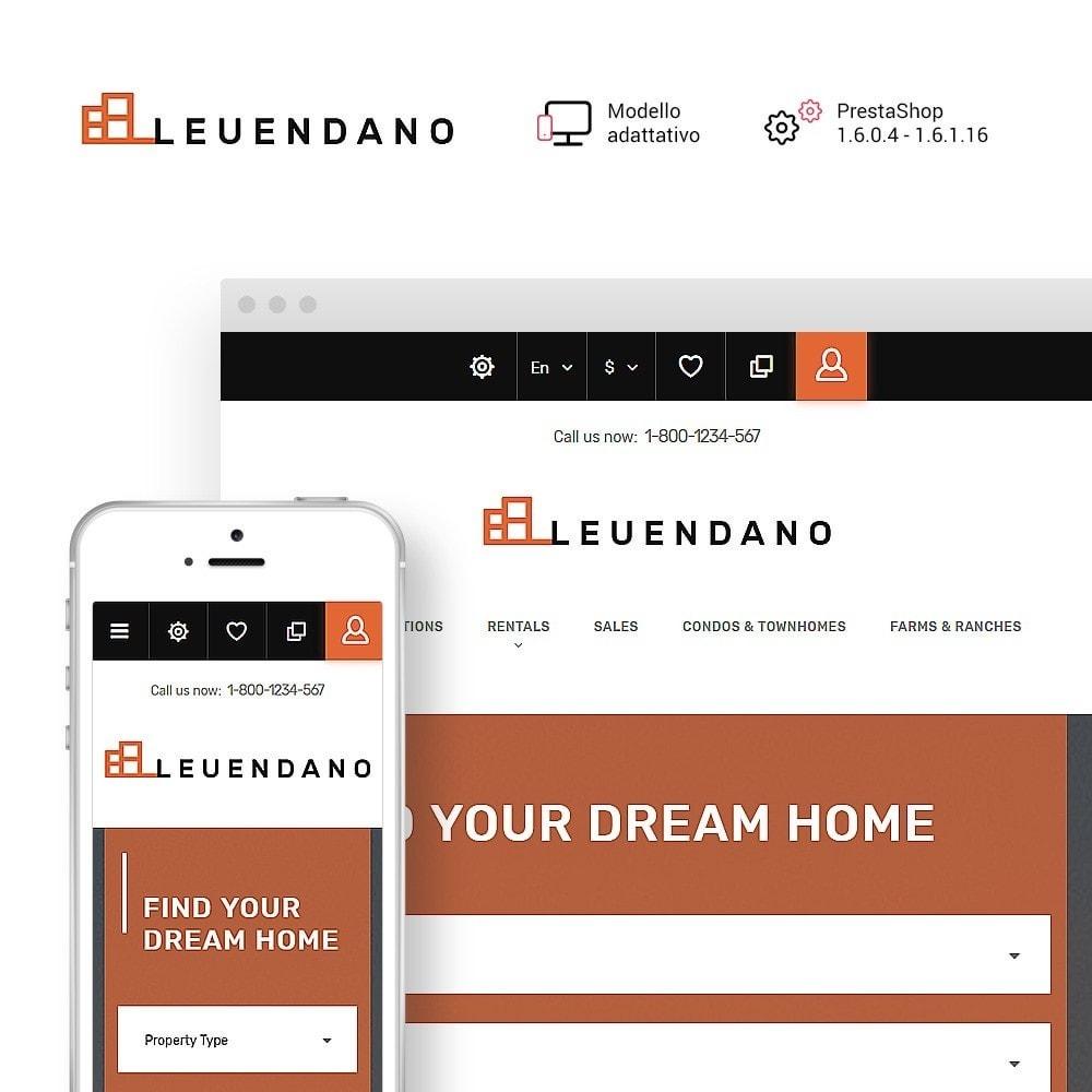 theme - Casa & Giardino - Leuendano  - per Un Sito di Agenzia Immobiliare - 1