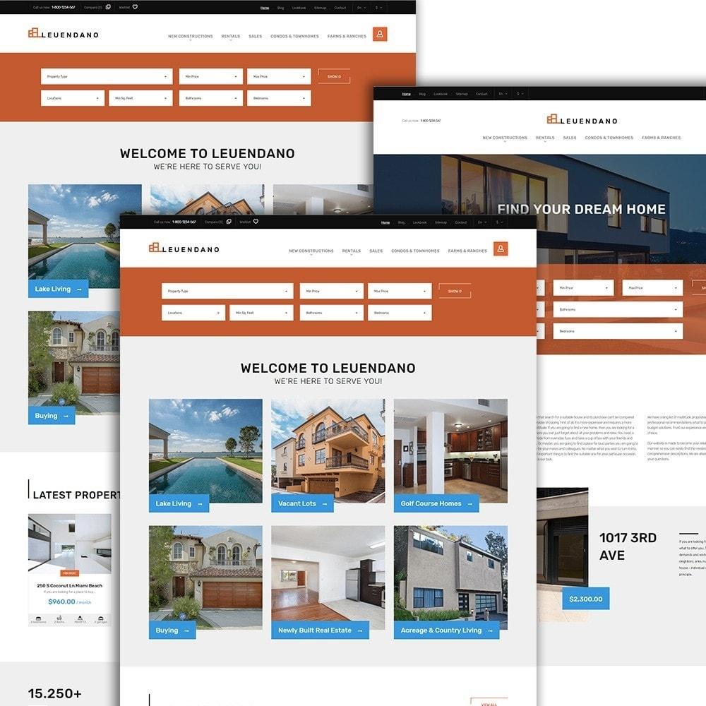 theme - Casa & Giardino - Leuendano  - per Un Sito di Agenzia Immobiliare - 2