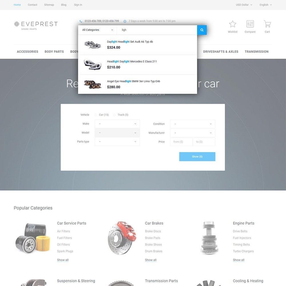 theme - Авто и Мото - Eveprest - Spare Parts - 6