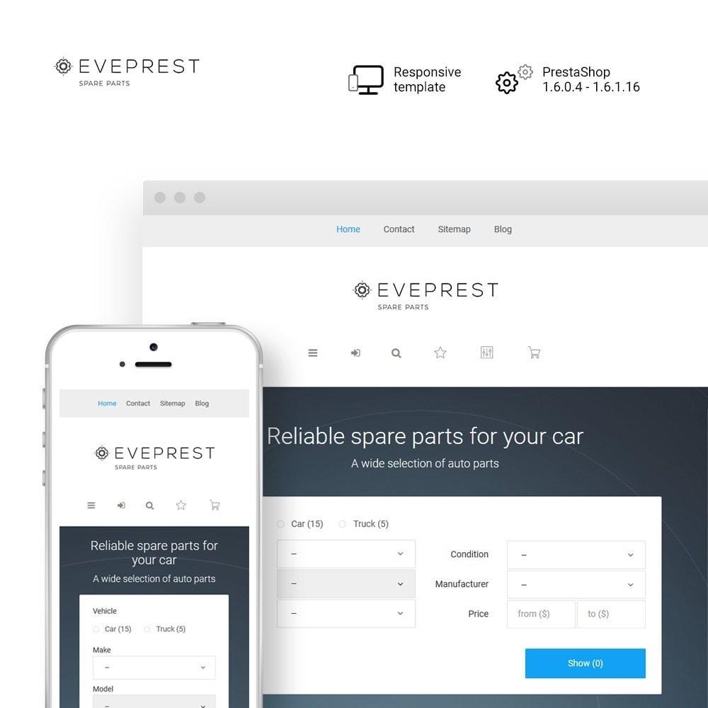 theme - Carros & Motos - Eveprest - Spare Parts - 1