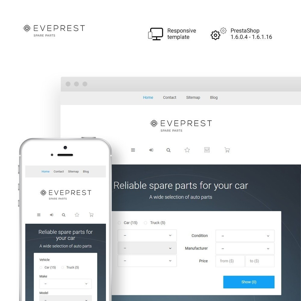 theme - Samochody - Eveprest - Spare Parts - 1