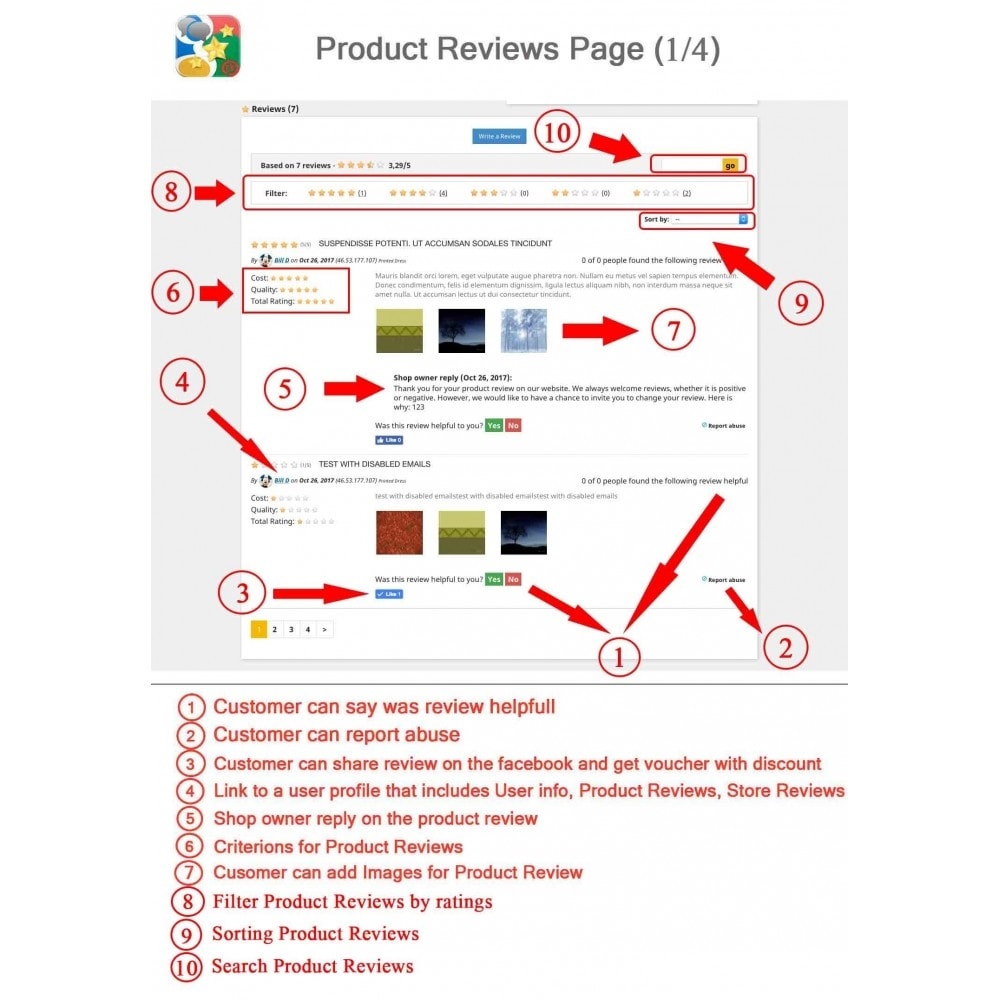 module - SEO - Product, Shop Reviews, Reminder, Profile, Rich Snippets - 1