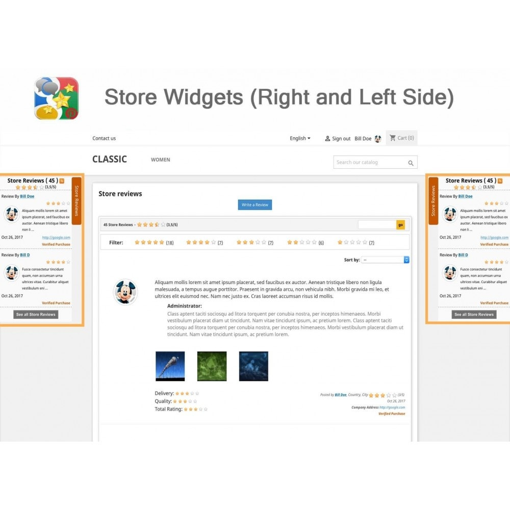 module - SEO - Product, Shop Reviews, Reminder, Profile, Rich Snippets - 18