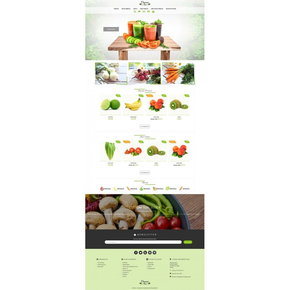 theme - Lebensmittel & Restaurants - Organic Store - 2