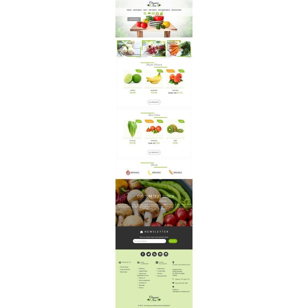 theme - Alimentation & Restauration - Organic Store - 5