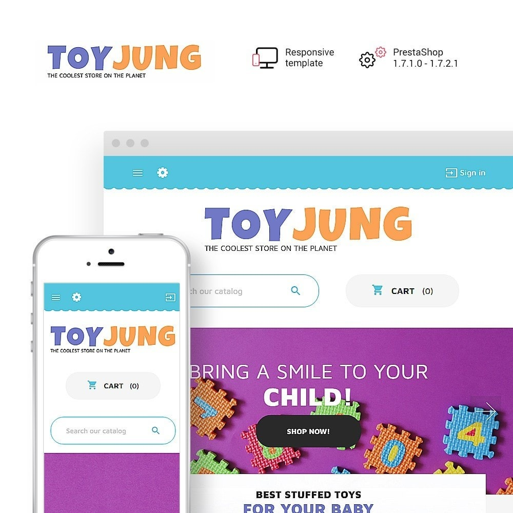 theme - Kinder & Spielzeug - ToyJung - Toy Store Responsive - 1