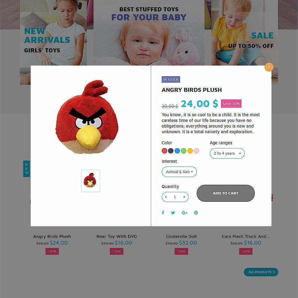 theme - Niños y Juguetes - ToyJung - para Sitio de Tienda de Juguetes - 4