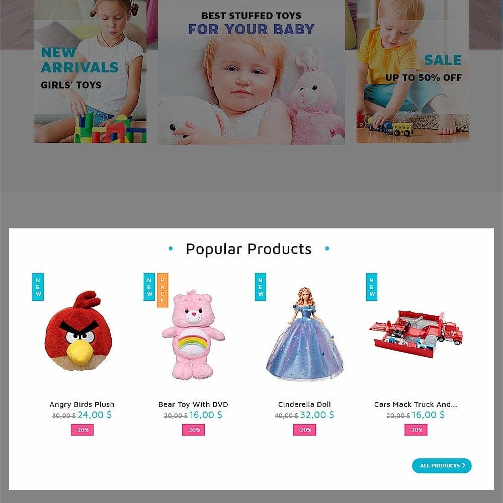 theme - Niños y Juguetes - ToyJung - para Sitio de Tienda de Juguetes - 5